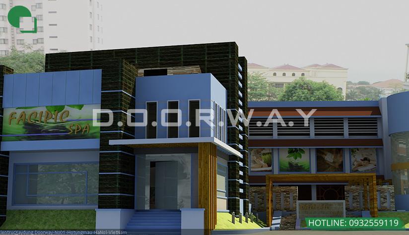 Thiết kế kiến trúc khách sạn Pacific 2ha by Doorway