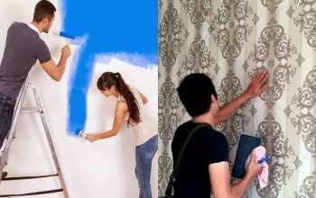 5 lý do nên chọn giấy dán tường cho phòng ngủ by kiến trúc Doorway ảnh tiêu biểu