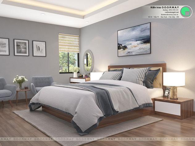 Ghim ngay 15+ thiết kế nội thất phòng ngủ đẹp 10m2, 20m2, 30m2 by kiến trúc Doorway 02