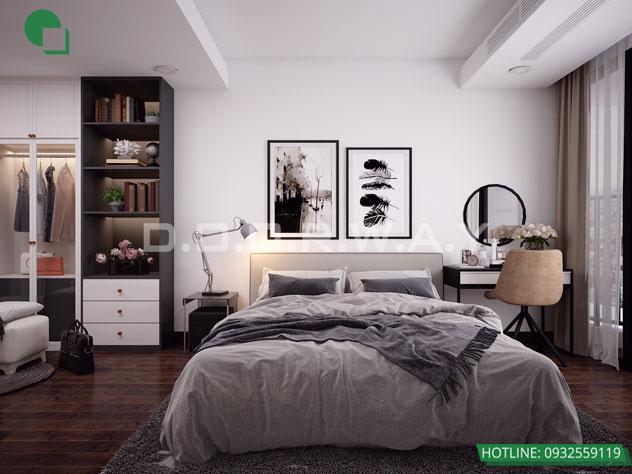 Ghim ngay 15+ thiết kế nội thất phòng ngủ đẹp 10m2, 20m2, 30m2 by kiến trúc Doorway 05