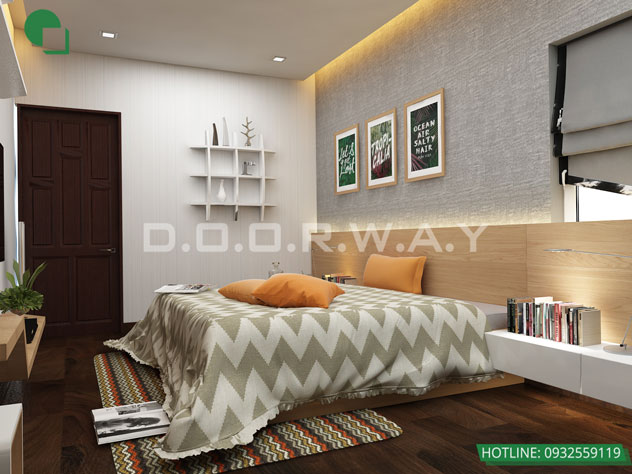 Ghim ngay 15+ thiết kế nội thất phòng ngủ đẹp 10m2, 20m2, 30m2 by kiến trúc Doorway 08