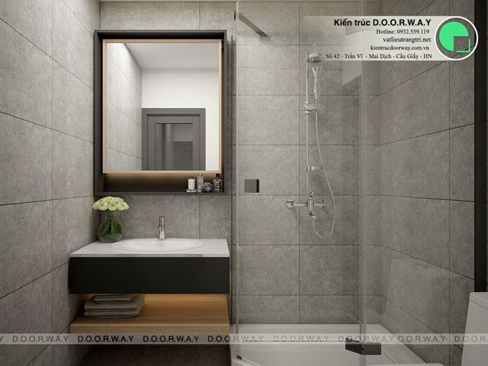 5- thiết kế căn hộ 50m2 1 phòng ngủ Mỹ Đình Pearl - Nội thất chung cư đẹp by kiến trúc Doorway