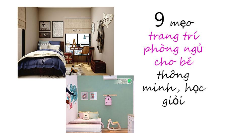 Ảnh tiêu biểu, 9 cách trang trí phòng ngủ cho bé thêm thông minh, học giỏi by kiến trúc Doorway