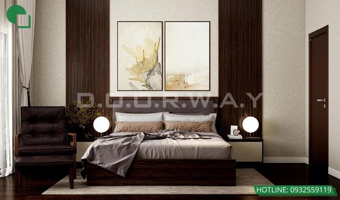 Thiết kế nội thất căn hộ 4 phòng ngủ The Manor Central Park by kiến trúc Doorway, thiết kế nội thất phòng ngủ 02