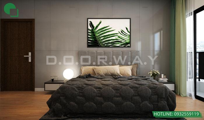 Thiết kế nội thất căn hộ 4 phòng ngủ The Manor Central Park by kiến trúc Doorway, thiết kế nội thất phòng ngủ 03
