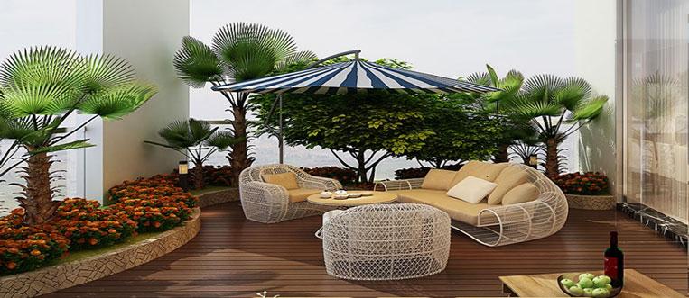 Tiện ích - phương án thiết kế nội thất căn hộ 2 phòng ngủ Mỹ Đình Pearl