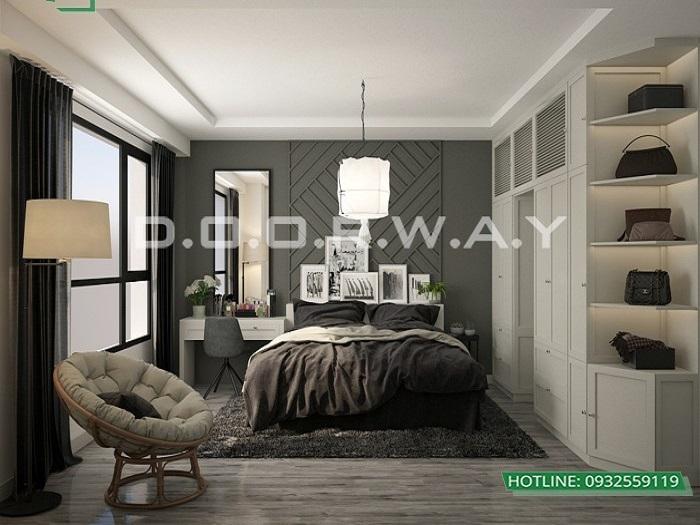 0- Tư vấn thiết kế nội thất căn hộ 65m2 2 phòng ngủ hiện đại từ Doorway