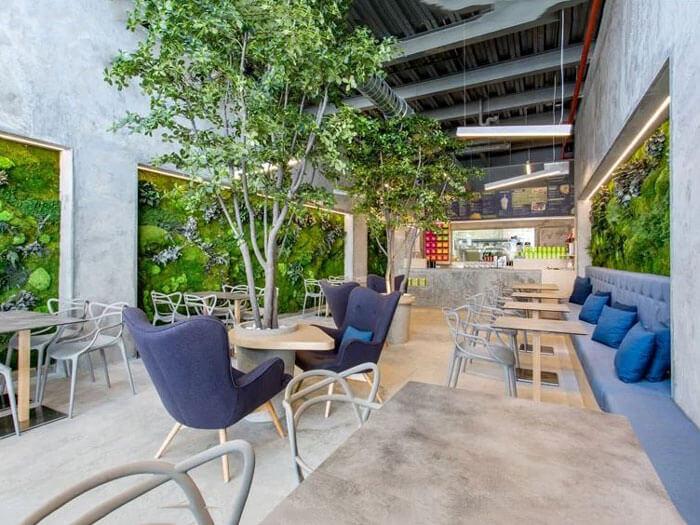 1- sân vườn1 - 10 mẫu & ý tưởng thiết kế quán cafe nhỏ giá rẻ đẹp nhất 2019