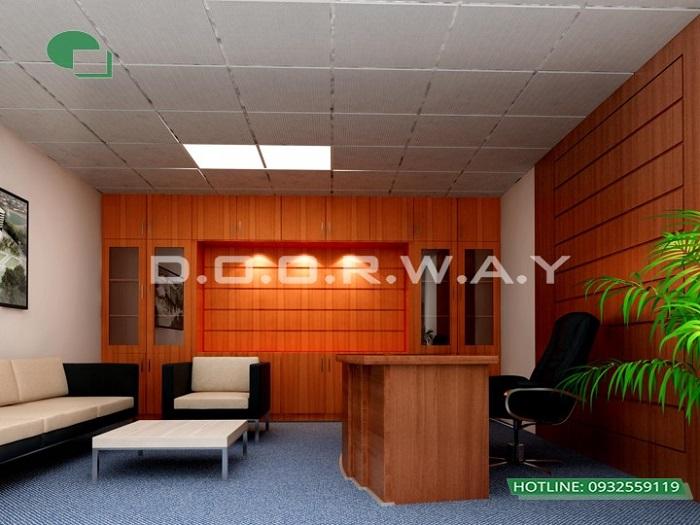 1-Dịch vụ thi công nội thất văn phòng hiện đại chuyên nghiệp