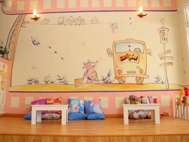 3- quán bệt2 - 10 mẫu & ý tưởng thiết kế quán cafe nhỏ giá rẻ đẹp nhất 2019