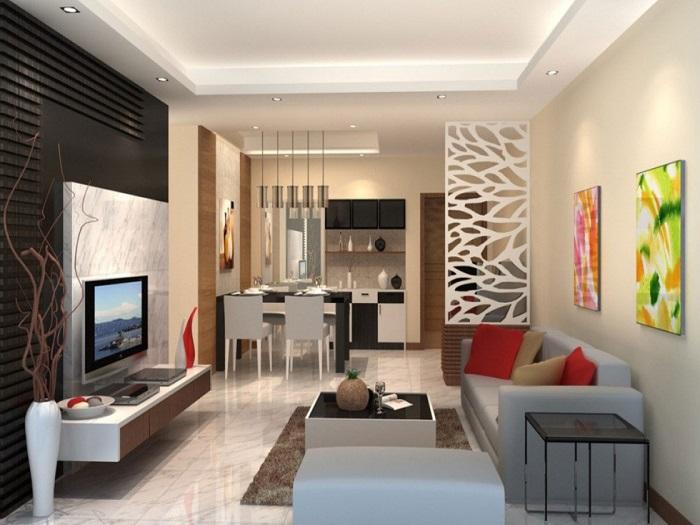 4- Bí quyết thiết kế nội thất phòng khách nhà ống thông thoáng