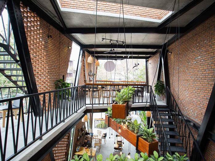 5- cafe khung thép 3 - 10 mẫu & ý tưởng thiết kế quán cafe nhỏ giá rẻ đẹp nhất 2019