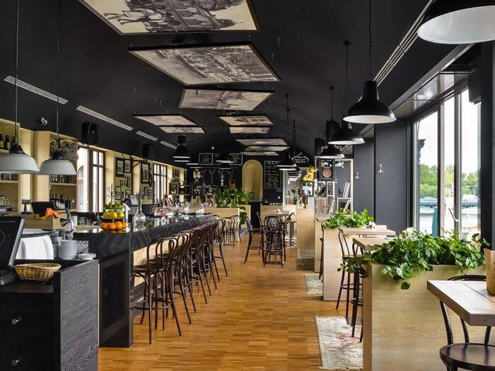 5- cafe khung thép 4 - 10 mẫu & ý tưởng thiết kế quán cafe nhỏ giá rẻ đẹp nhất 2019