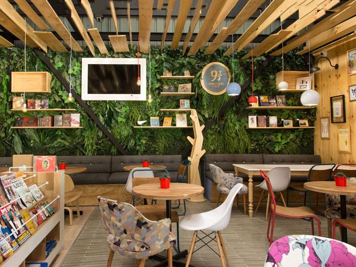 7- acoustic sách 2 - 10 mẫu & ý tưởng thiết kế quán cafe nhỏ giá rẻ đẹp nhất 2019