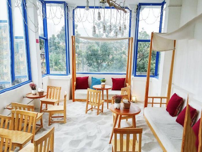 8- cát 2 - 10 mẫu & ý tưởng thiết kế quán cafe nhỏ giá rẻ đẹp nhất 2019