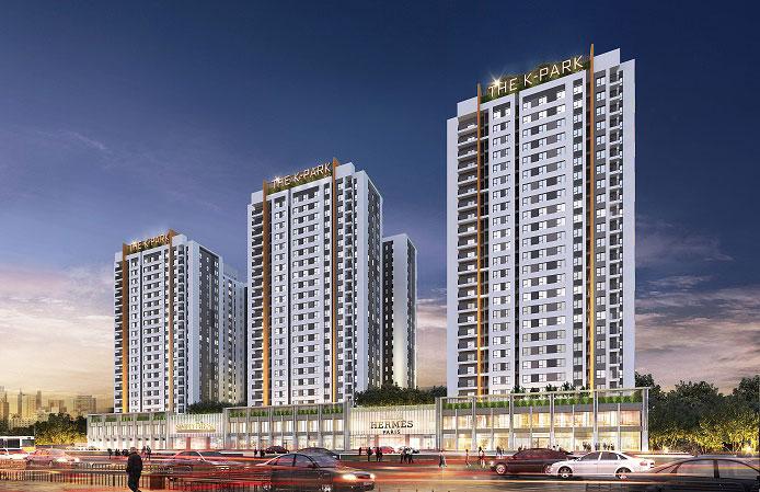 Toàn cảnh- Khám phá mặt bằng thiết kế chung cư The K Park Văn Phú - Hà Đông