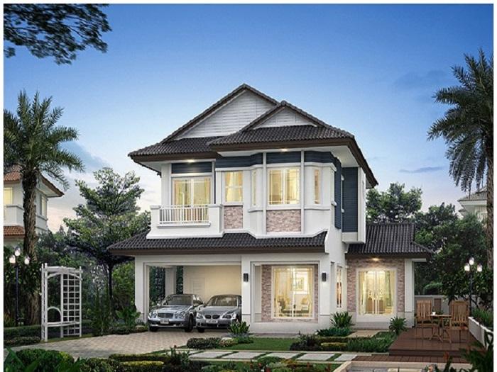 3- Xu hướng thiết kế biệt thự mini 2 tầng đẹp được yêu thích 2019