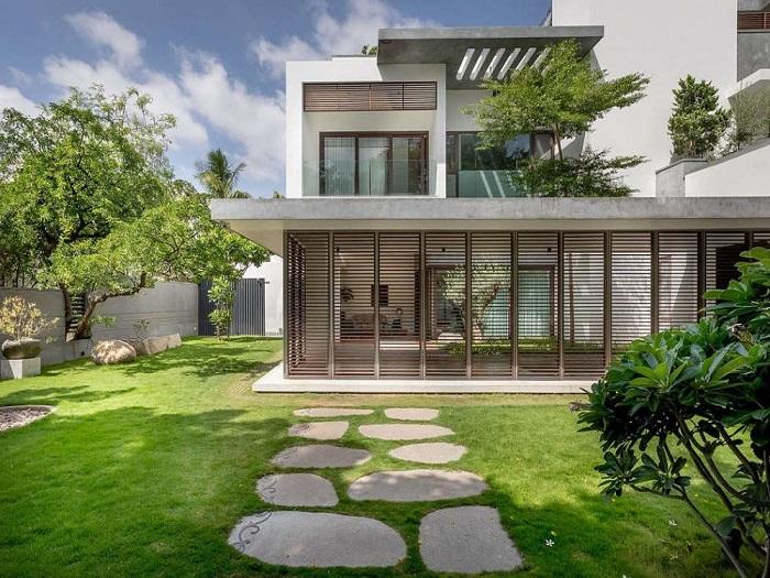 4- Xu hướng thiết kế biệt thự mini 2 tầng đẹp được yêu thích 2019