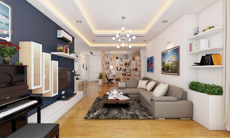 Ảnh tiêu biểu - Xem cách thiết kế nội thất căn hộ 3 phòng ngủ sang trọng và nổi bật