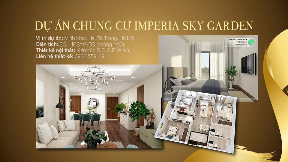 Ảnh tiêu biểu - Nên thiết kế căn hộ 3 phòng ngủ Imperia Sky Garden như thế nào?