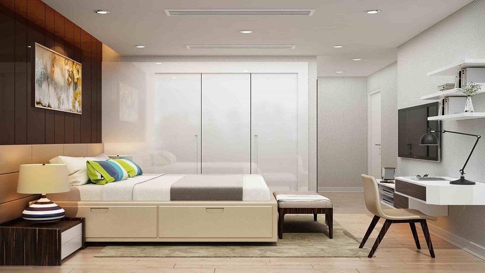 Ảnh tiêu biểu- 5+ Giải pháp thiết kế nội thất phòng ngủ nhỏ rộng thoáng mát