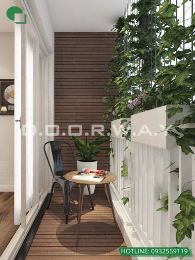 Logia- [2019] Thiết kế căn hộ 87m2 Sky Park Residence - Nội thất sang trọng
