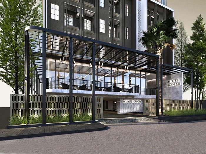 10 - 10 Mẫu thiết kế khách sạn 7 tầng đẹp hiện đại, tân cổ điển,...
