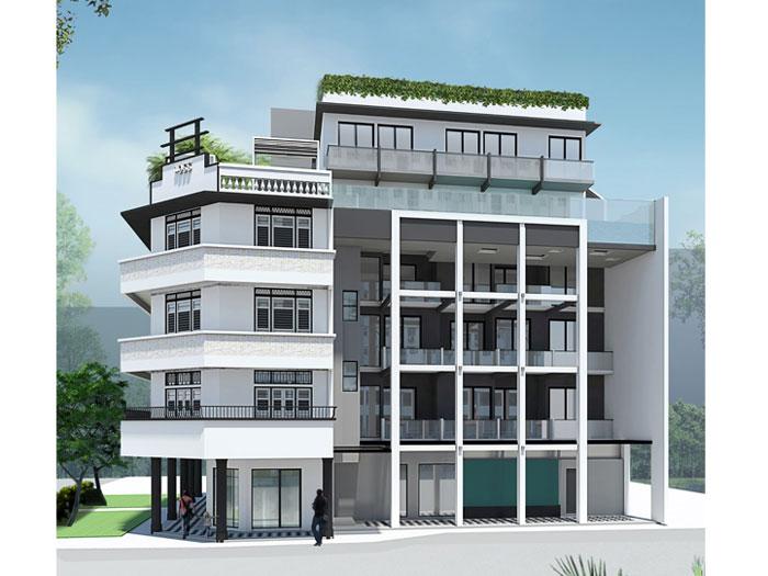 4- 10 Mẫu thiết kế khách sạn 7 tầng đẹp hiện đại, tân cổ điển,...