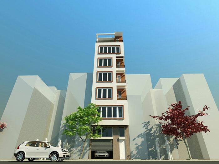 7 - 10 Mẫu thiết kế khách sạn 7 tầng đẹp hiện đại, tân cổ điển,...