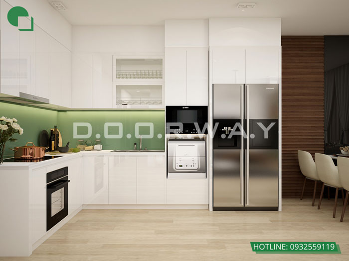 PB- Thiết kế căn hộ 70m2 FLC Green Apartment - Căn hộ 3 phòng ngủ