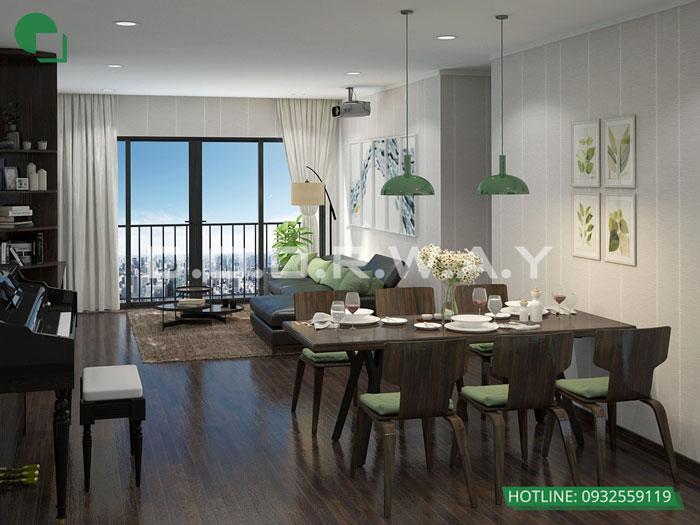 PK1- Tổng hợp thiết kế chung cư Sky Park Residence - Nội thất đẹp