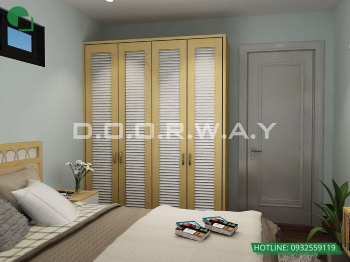 PN2- Thiết kế căn hộ 70m2 FLC Green Apartment - Căn hộ 3 phòng ngủ