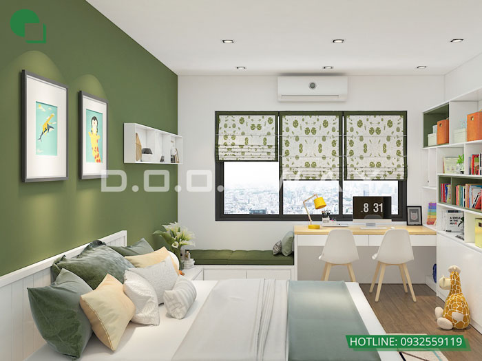 PK3(2)- Tổng hợp thiết kế chung cư Sky Park Residence - Nội thất đẹp
