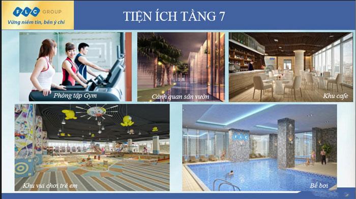 Tiện ích- Thiết kế căn hộ 70m2 FLC Green Apartment - Căn hộ 3 phòng ngủ