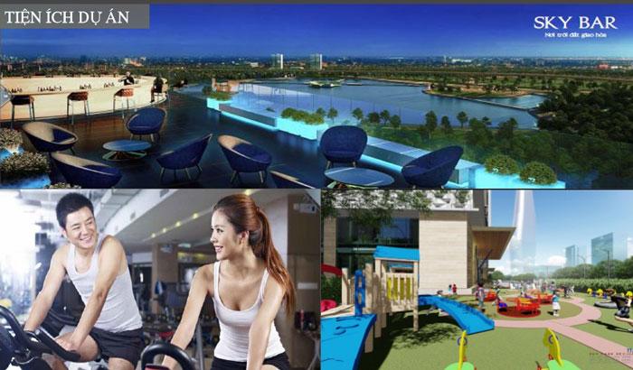 Tiện ích- Tổng hợp thiết kế chung cư Sky Park Residence - Nội thất đẹp