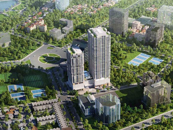 Toàn cảnh- [2019] Thiết kế căn hộ 87m2 Sky Park Residence - Nội thất sang trọng