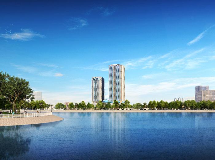 Toàn cảnh- Tổng hợp thiết kế chung cư Sky Park Residence - Nội thất đẹp