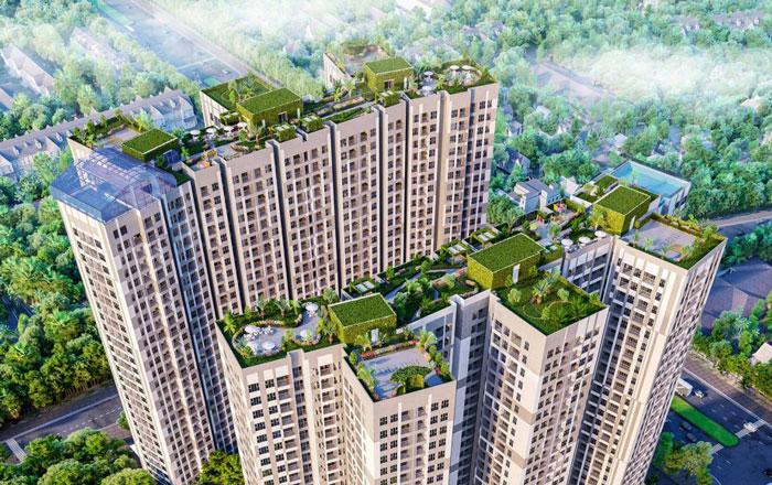 Toàn cảnh- Gợi ý thiết kế chung cư Imperia Sky Garden 423 Minh Khai