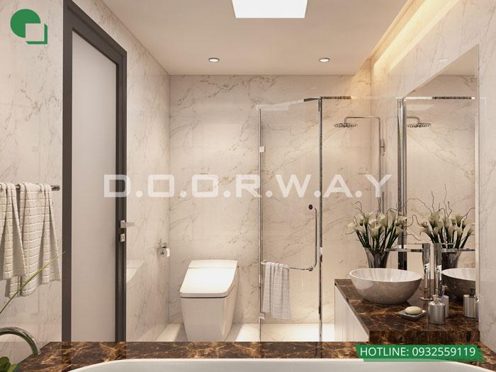 WC- [2019] Thiết kế căn hộ 87m2 Sky Park Residence - Nội thất sang trọng