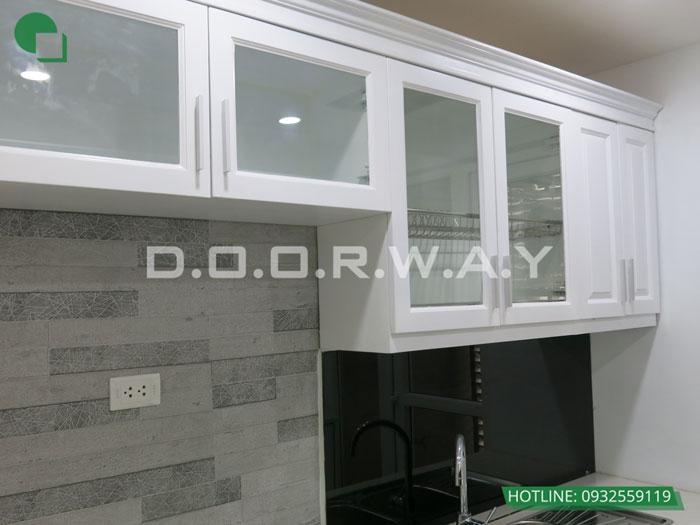 2- Mẫu thi công nội thất tủ bếp gỗ công nghiệp An Cường đẹp