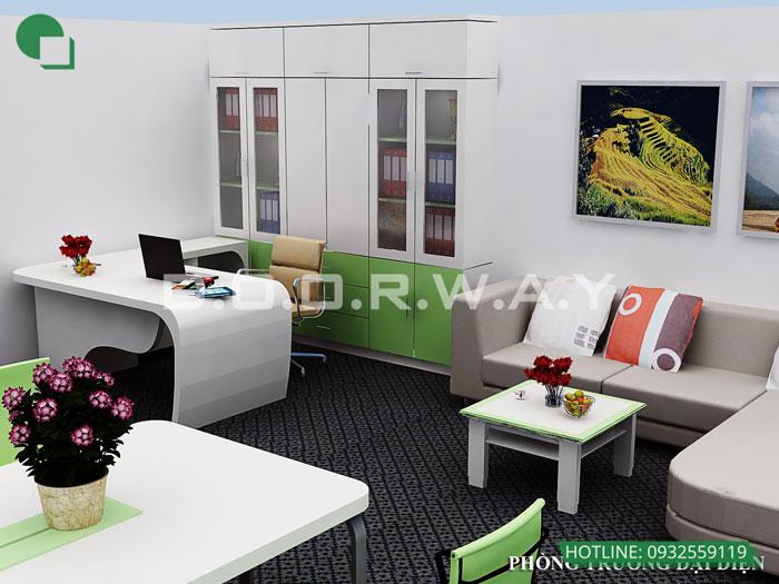 3- Top 7 mẫu thiết kế nội thất văn phòng giám đốc đẹp hiện đại
