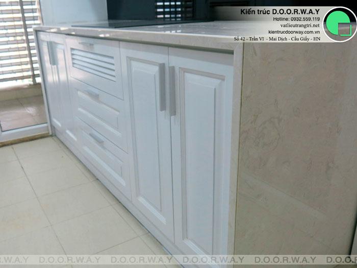 4- Mẫu thi công nội thất tủ bếp gỗ công nghiệp An Cường đẹp