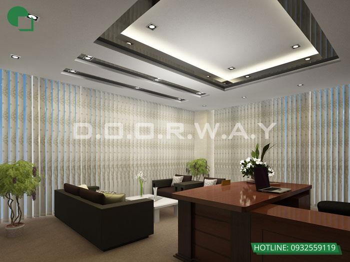 4- Top 7 mẫu thiết kế nội thất văn phòng giám đốc đẹp hiện đại