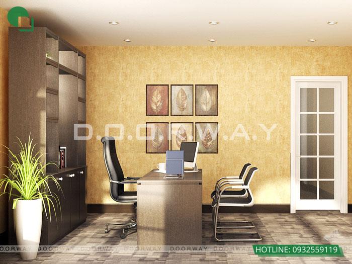 5- Top 7 mẫu thiết kế nội thất văn phòng giám đốc đẹp hiện đại