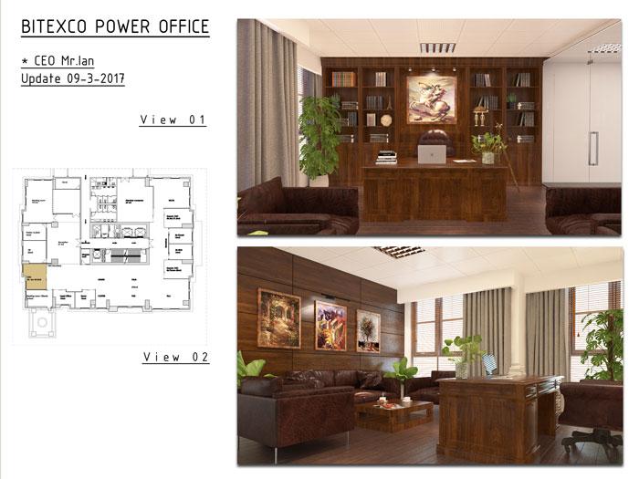 6- Top 7 mẫu thiết kế nội thất văn phòng giám đốc đẹp hiện đại