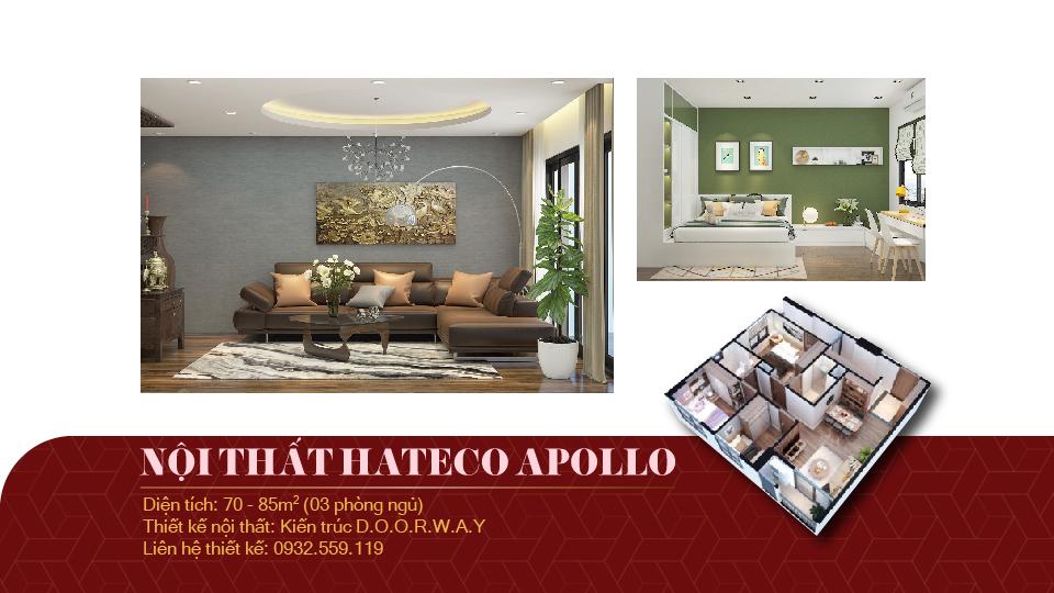 Ảnh tiêu biểu - Mách bạn mẫu nội thất căn 3 phòng ngủ Hateco Apollo đẹp, nên đầu tư