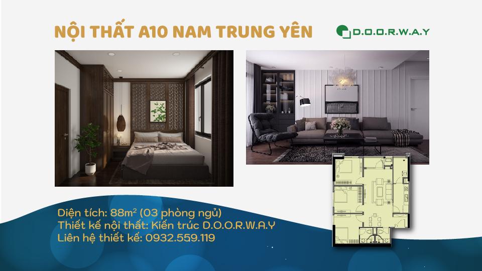 Ảnh tiêu biểu- Cách chọn nội thất căn 88m2 A10 Nam Trung Yên cho các phòng