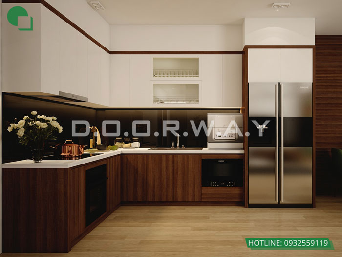PB- Mẫu thiết kế nội thất căn 153m2 Sunshine Center - Doorway