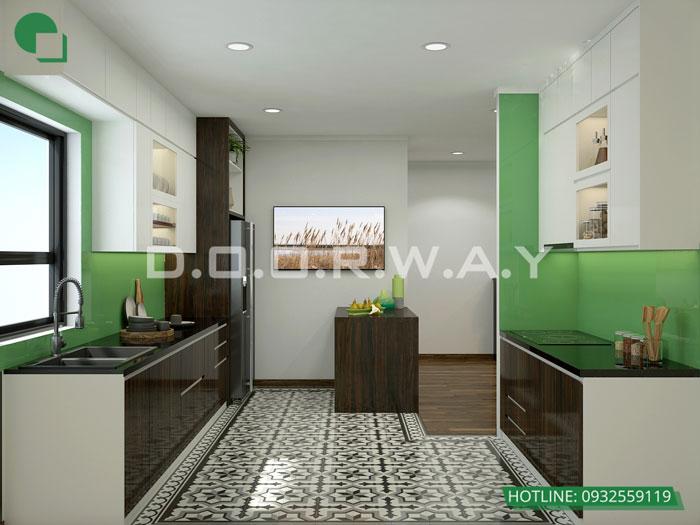 PB- Mẫu thiết kế nội thất căn 60m2 A10 Nam Trung Yên - Căn hộ đẹp 2019