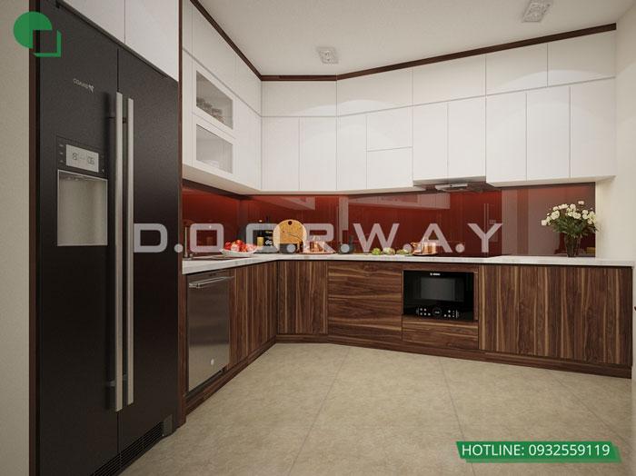PB- [2019] Thiết kế nội thất căn 65m2 Hateco Apollo đẹp hiện đại